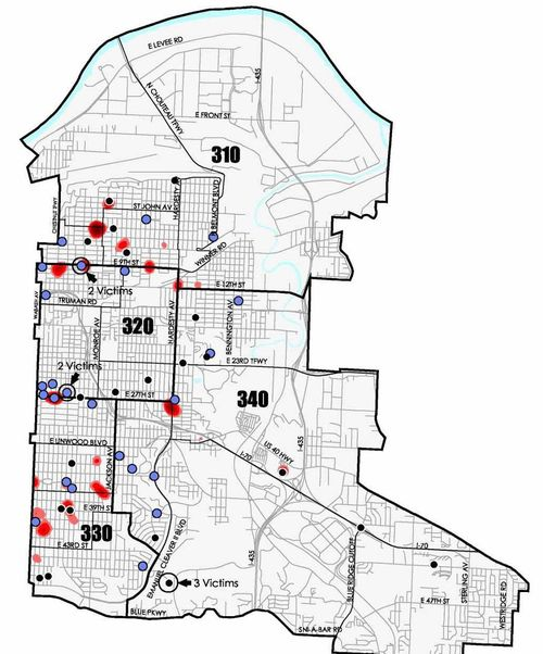 East Patrol Crime Map