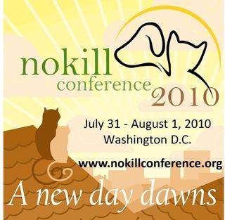 2010 No Kill Conference Logo