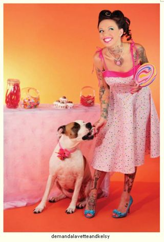 Pin Ups for Pit Bulls