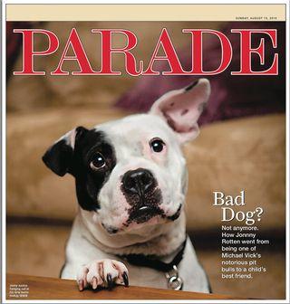 Parade Magazine Cover - Johnny Justice
