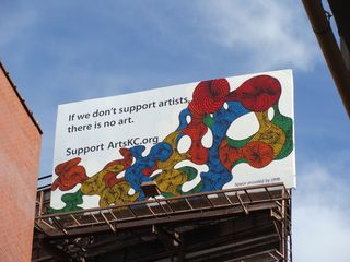If we don't support the artists, there is no art