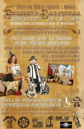 Pin Ups for Pit Bulls Summer Carnival