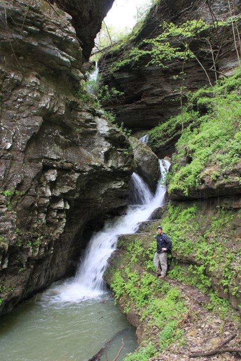 Back Waterfall in Indian Creek