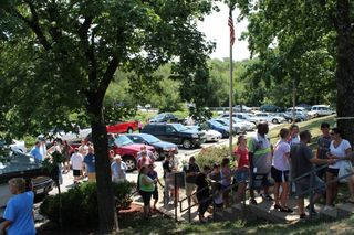Line at July 4, 2012 Event