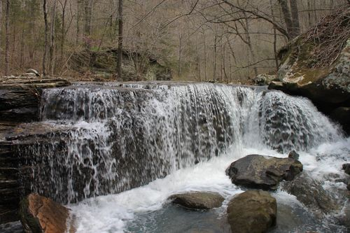 Burr Oak Woods, Big Creek Cave Falls, Fern Falls 136