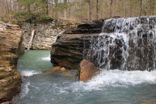 Burr Oak Woods, Big Creek Cave Falls, Fern Falls 139