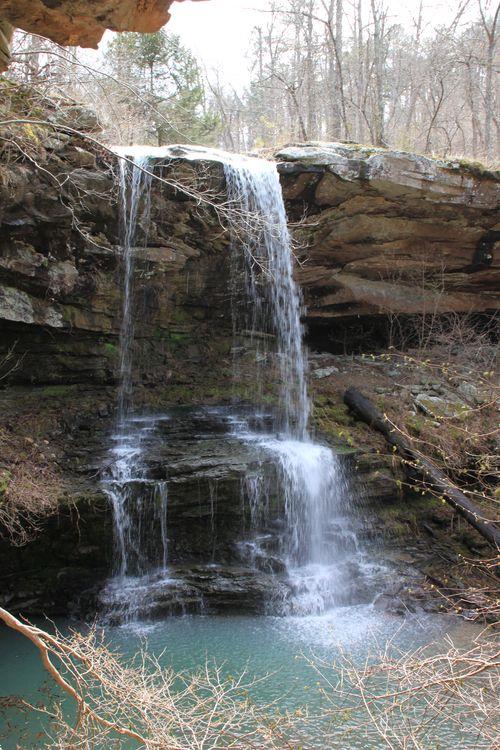 Burr Oak Woods, Big Creek Cave Falls, Fern Falls 163