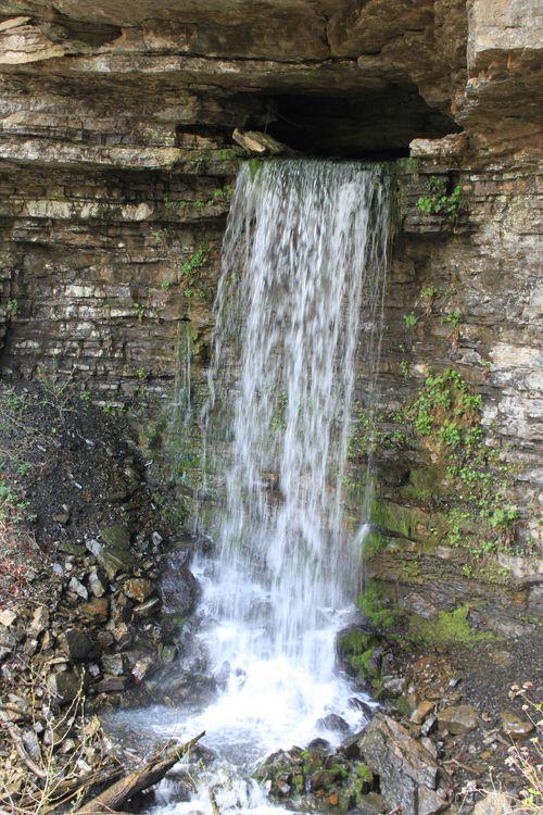 Burr Oak Woods, Big Creek Cave Falls, Fern Falls 079