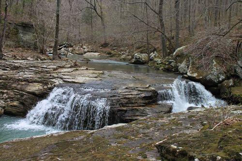 Burr Oak Woods, Big Creek Cave Falls, Fern Falls 129