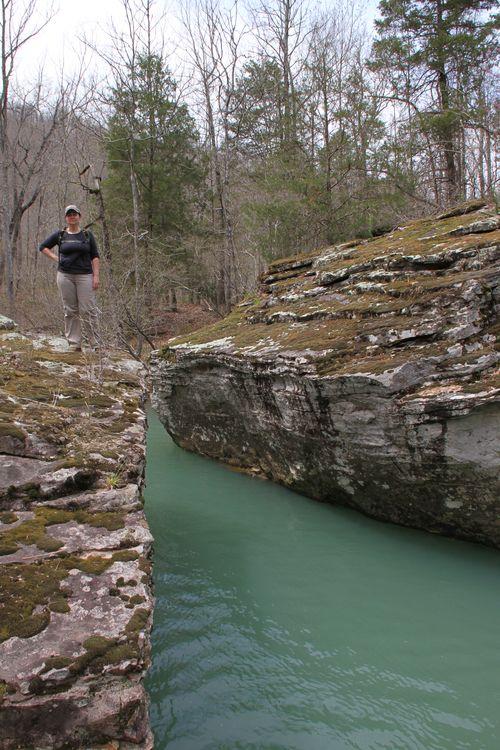 Burr Oak Woods, Big Creek Cave Falls, Fern Falls 134