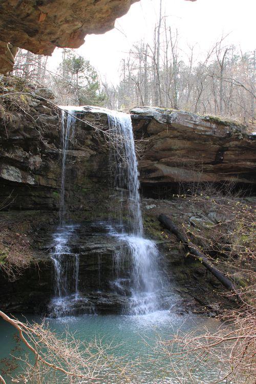 Burr Oak Woods, Big Creek Cave Falls, Fern Falls 158