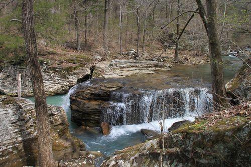 Burr Oak Woods, Big Creek Cave Falls, Fern Falls 145
