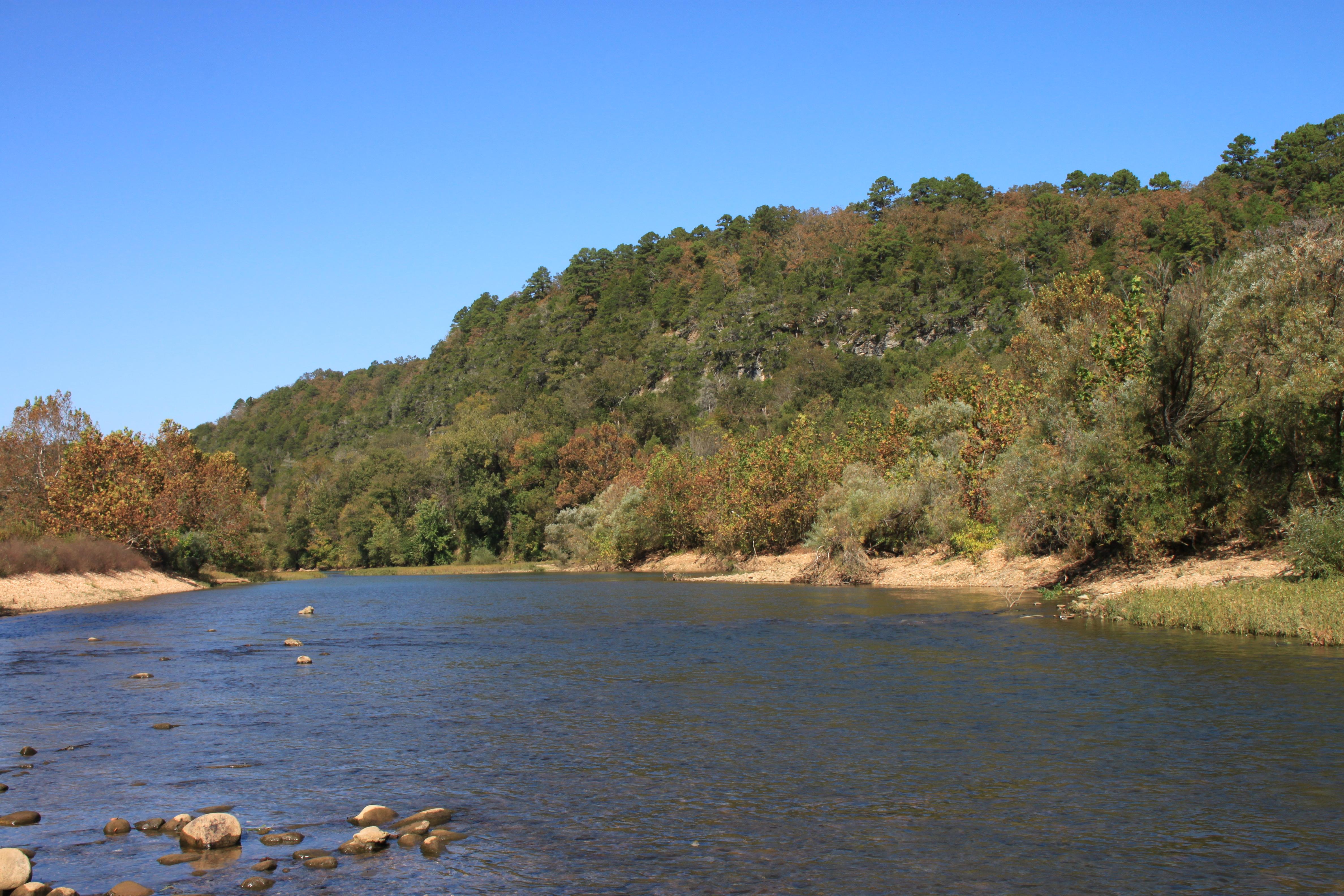 buffalo river water levels